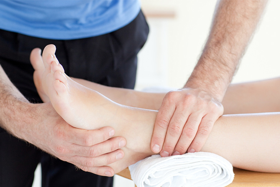 Proloterapia para el esguince de tobillo